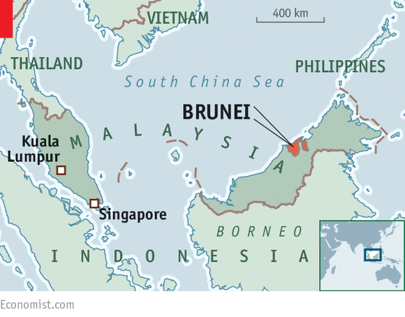 All pray and no work Brunei