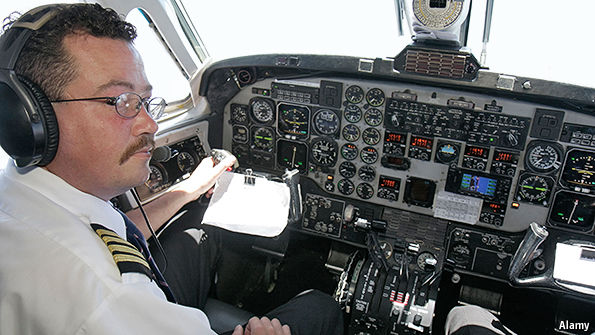should flyers worry if their pilot dies emergency frequency