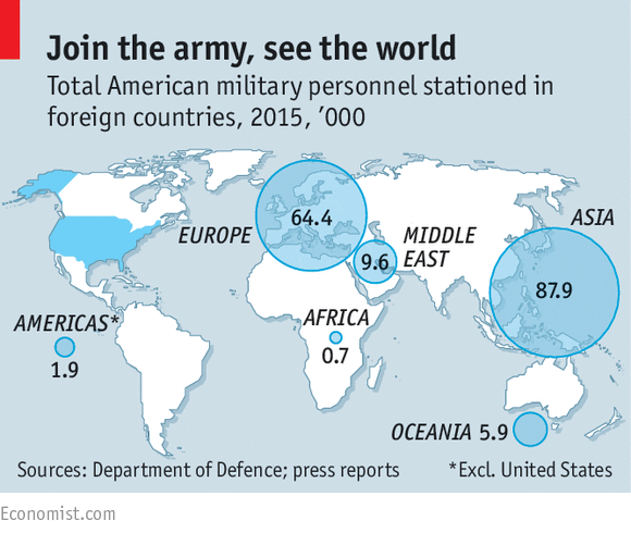 Go Home Yankee Americas Foreign Bases - Map of us troops around the world