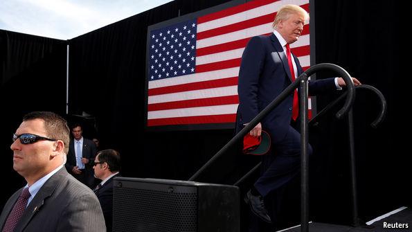 Electoral Map Blueshow Trump Has Slumped In Battleground Polls