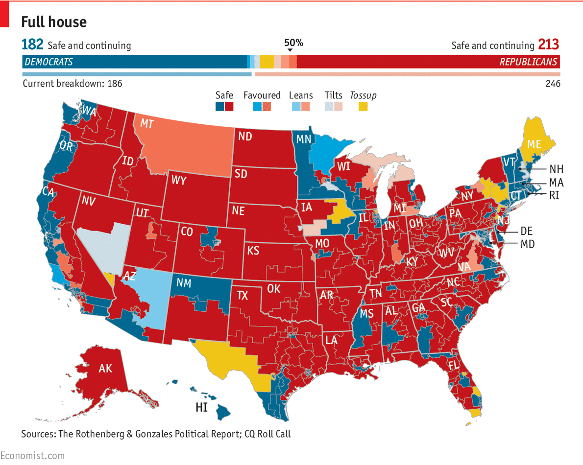 Democrats Seem Unlikely To Turn The House Map Blue The State Of