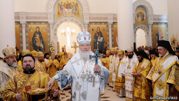 A new Orthodox church next to the Eiffel Tower boosts Russian soft power