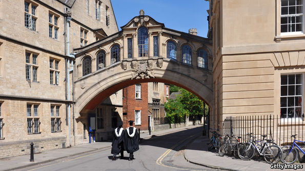 How Oxford University is diversifying its student body