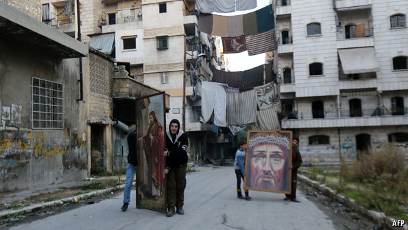 Aleppo presents a moral dilemma for Christian leaders