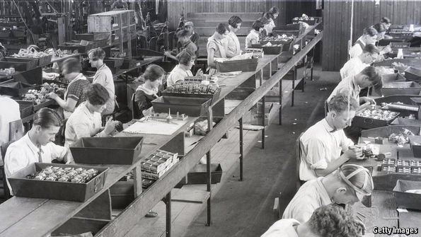 Why old-fashioned manufacturing jobs won't return to the West