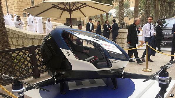 Dubai Is To Test Passenger Carrying Drones