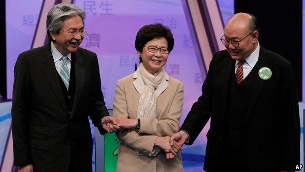 How Hong Kong picks its chief executives