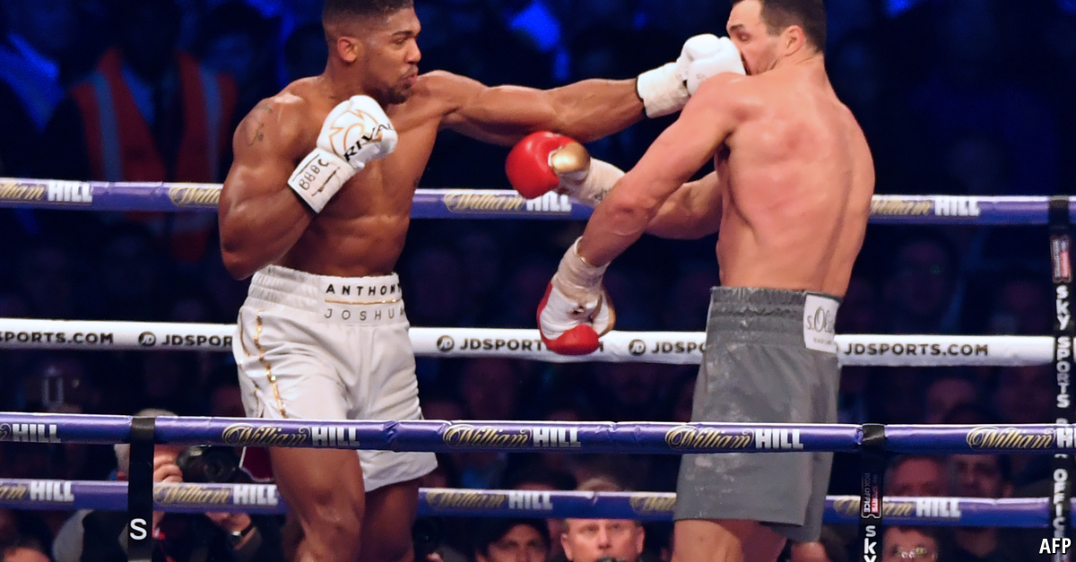 heavyweight boxing is waking from a prolonged slumber - trembly at