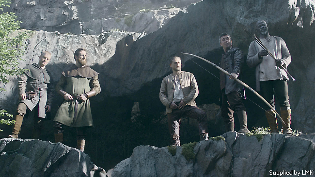 """Guy Ritchie makes the wrong film in """"King Arthur"""""""