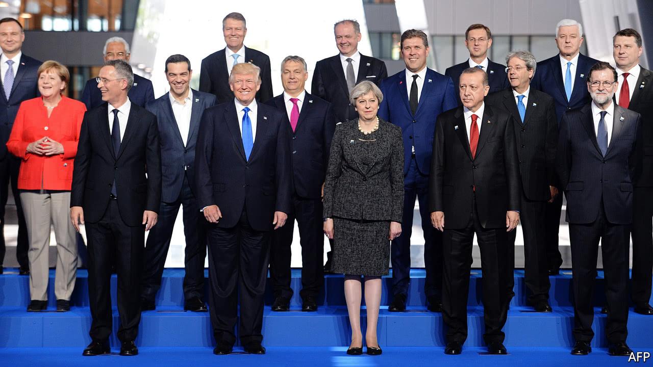 Donald Trump fails to endorse NATO's mutual defence pledge