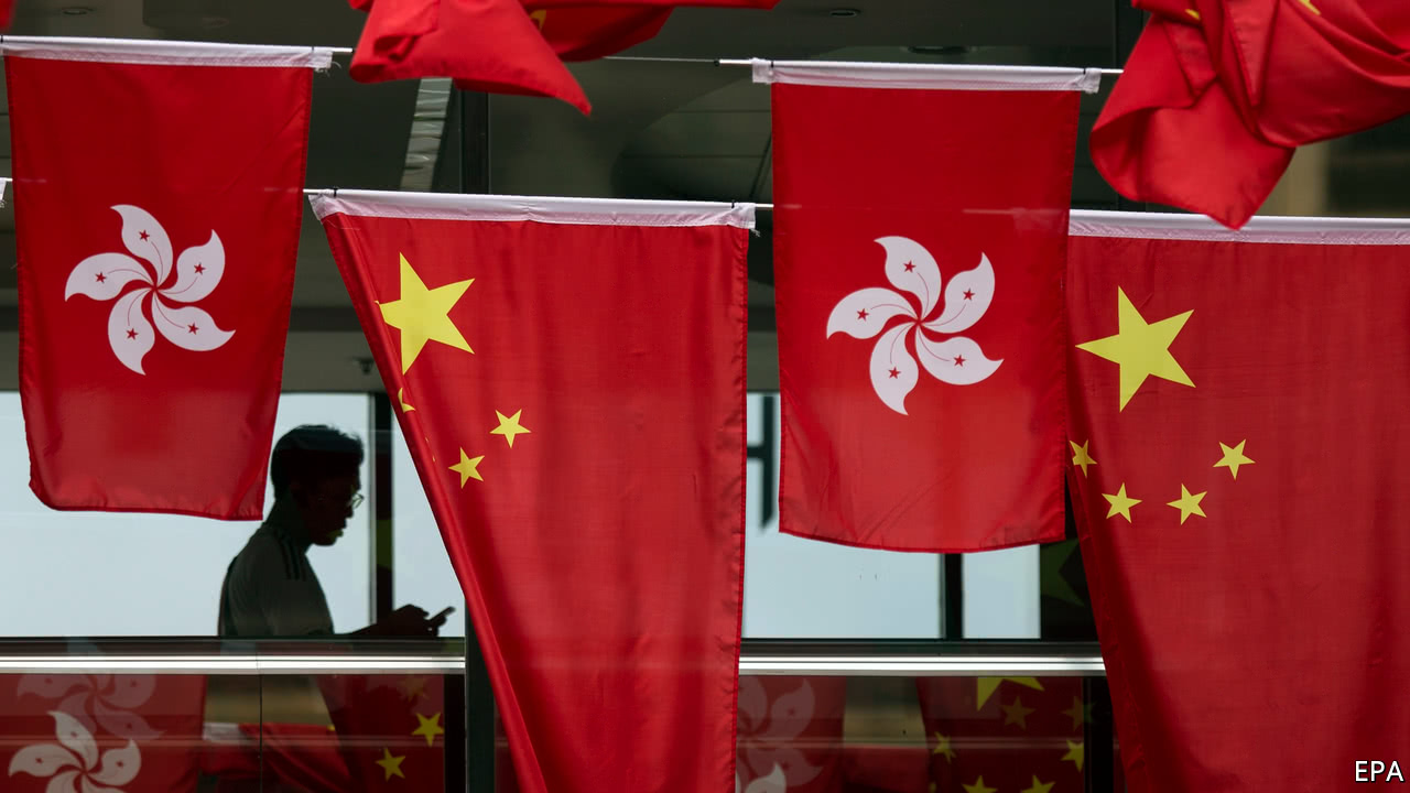 United Kingdom symbols fade, China's rise in new Hong Kong