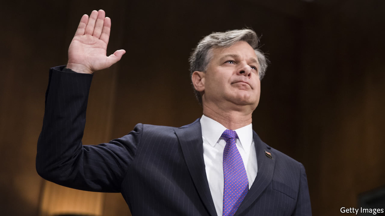 FBI Nominee Wray Pledges Loyalty to 'Constitution and the Rule of Law'