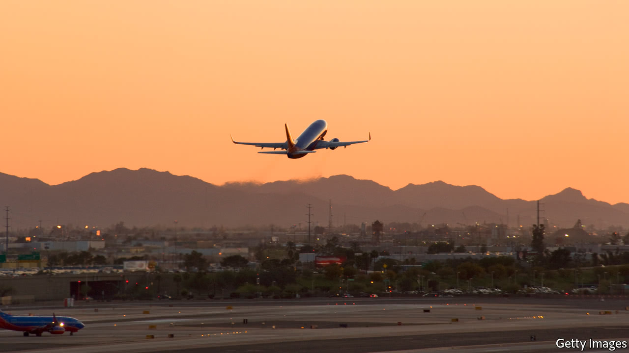 Climate change might prevent airlines from flying full planes