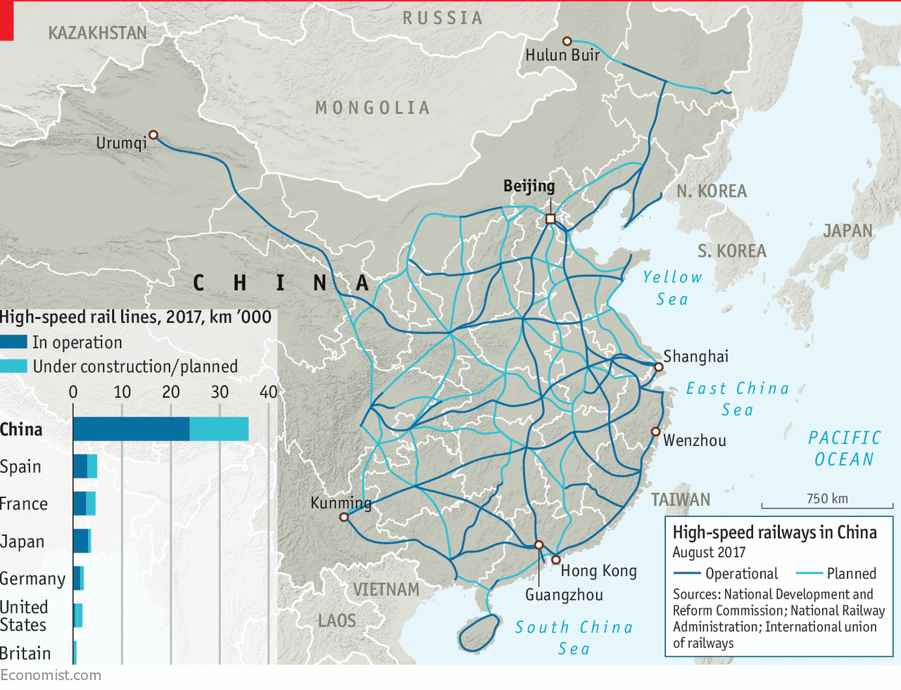 Chinas highspeed trains are back on track Daily chart