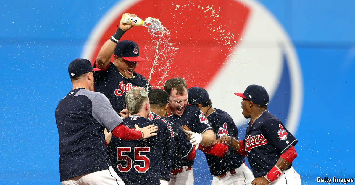 Streaking Tribe Sets AL Record For Consecutive Victories