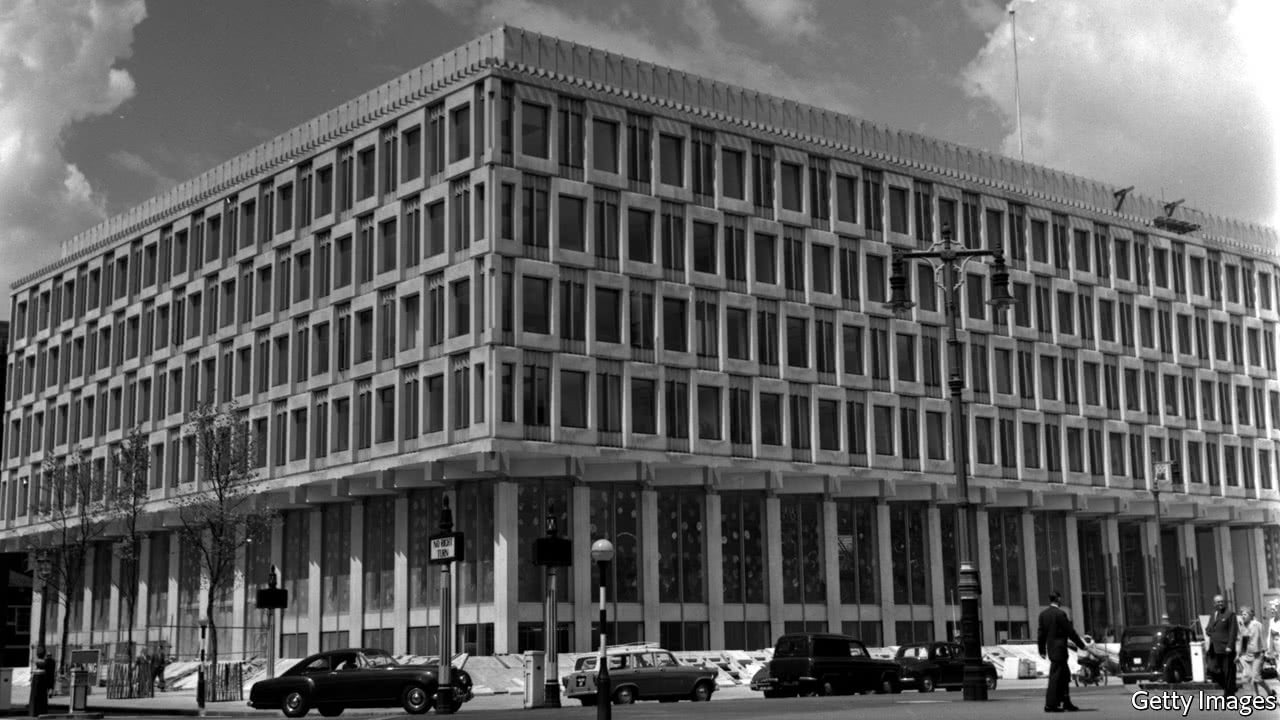 The american embassy building in london is a modernist for Consul building
