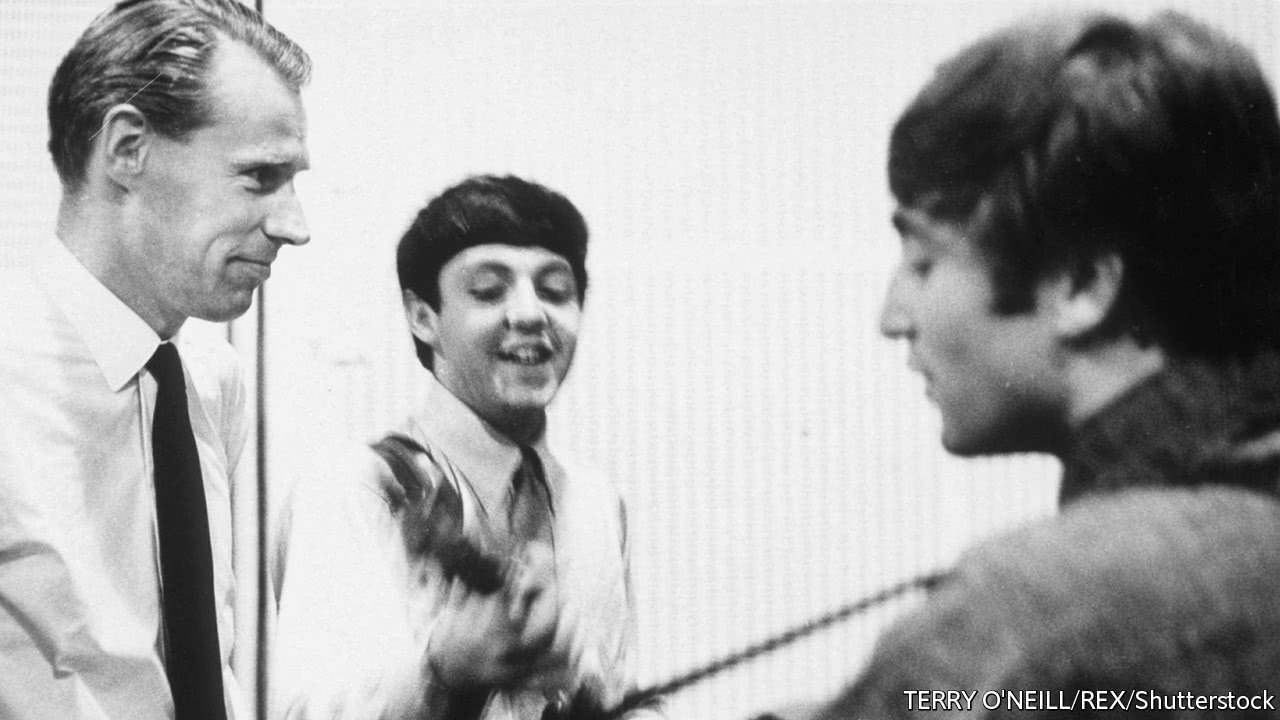 The first biography of George Martin, the Beatles' only producer
