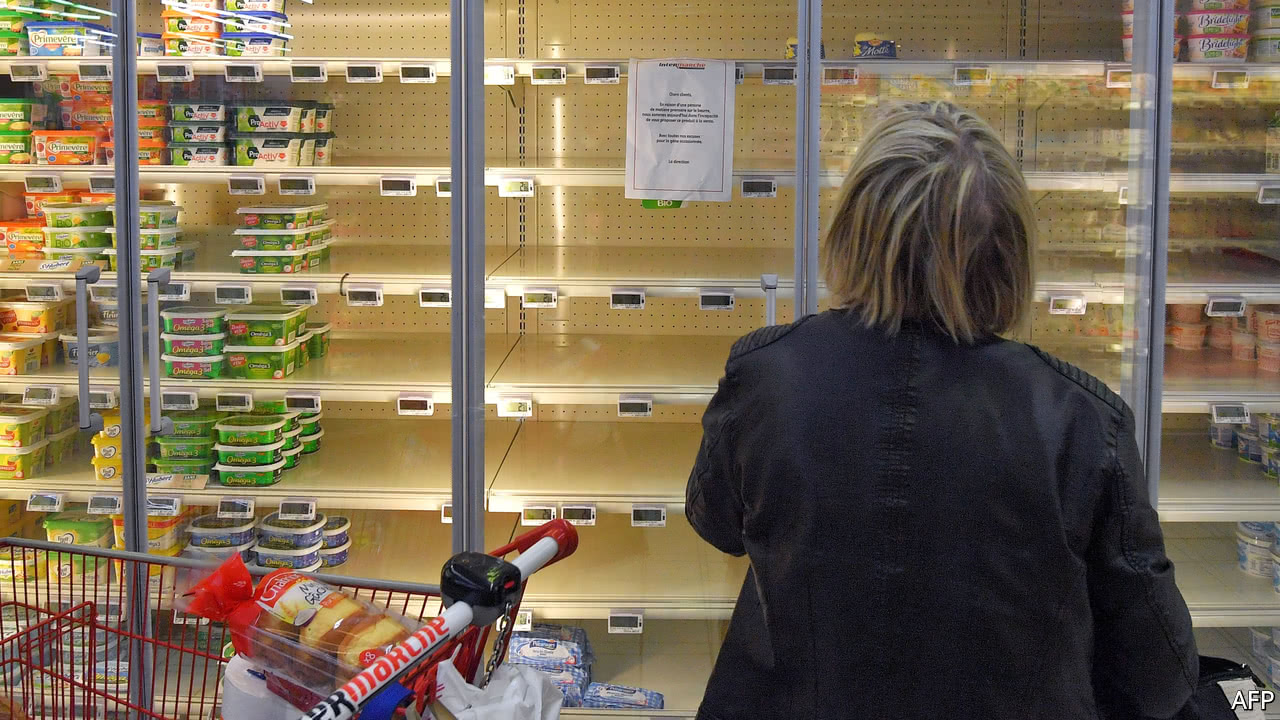 Why France is facing a butter squeeze