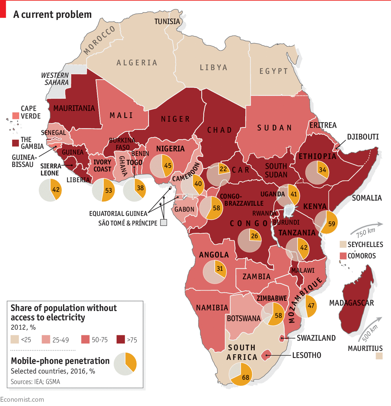 In Much Of Sub-Saharan Africa, Mobile Phones Are More -5215