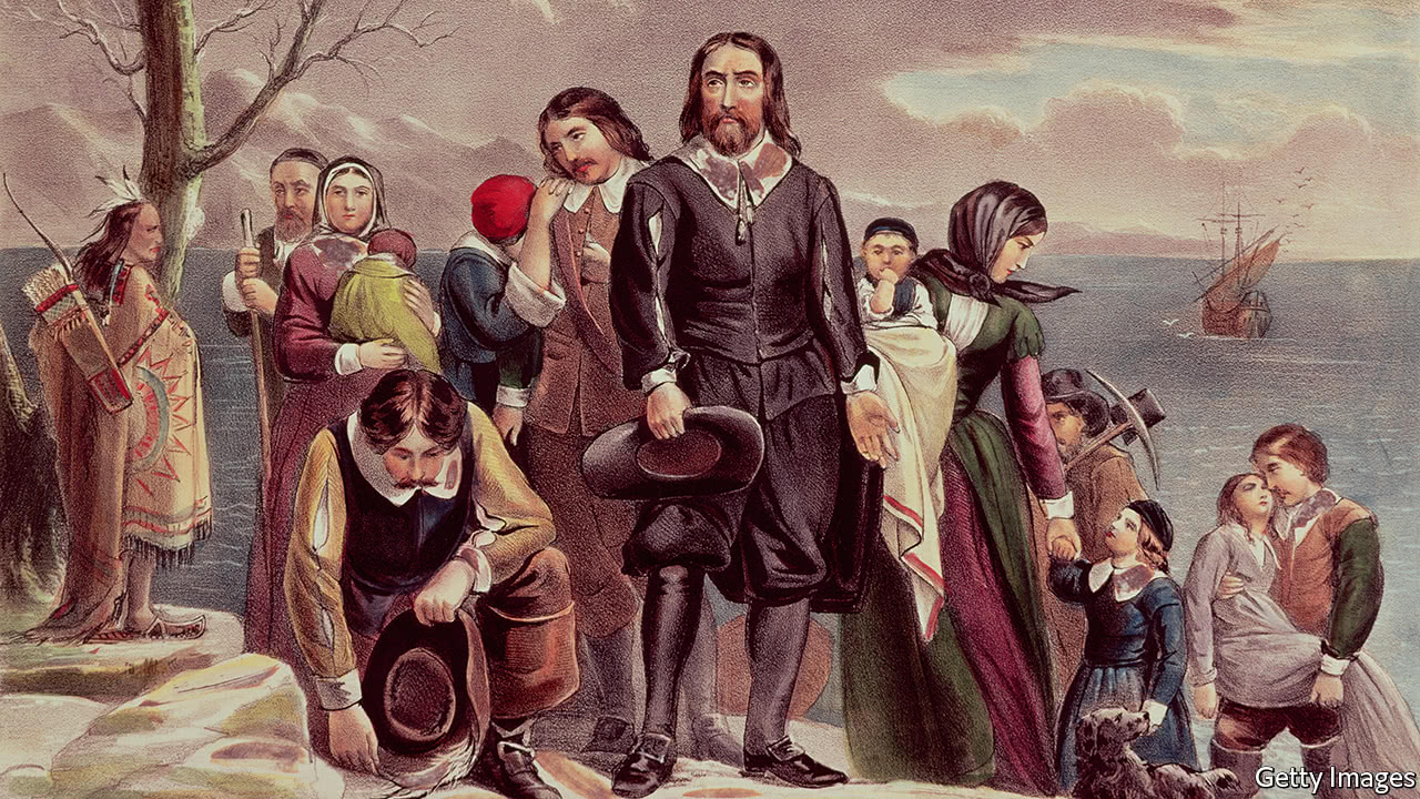 The Mayflower generation and the burden it bears