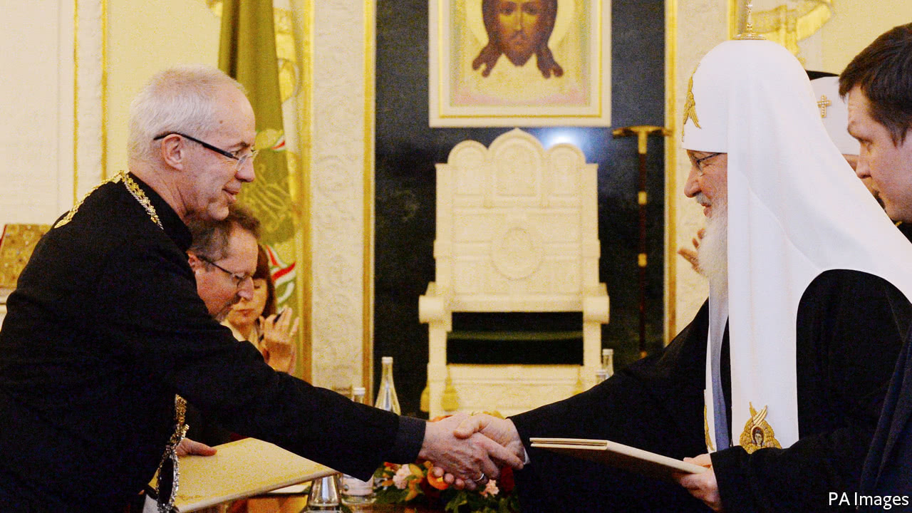 As Russian and British clerics concur and spar, Middle Eastern ghosts loom