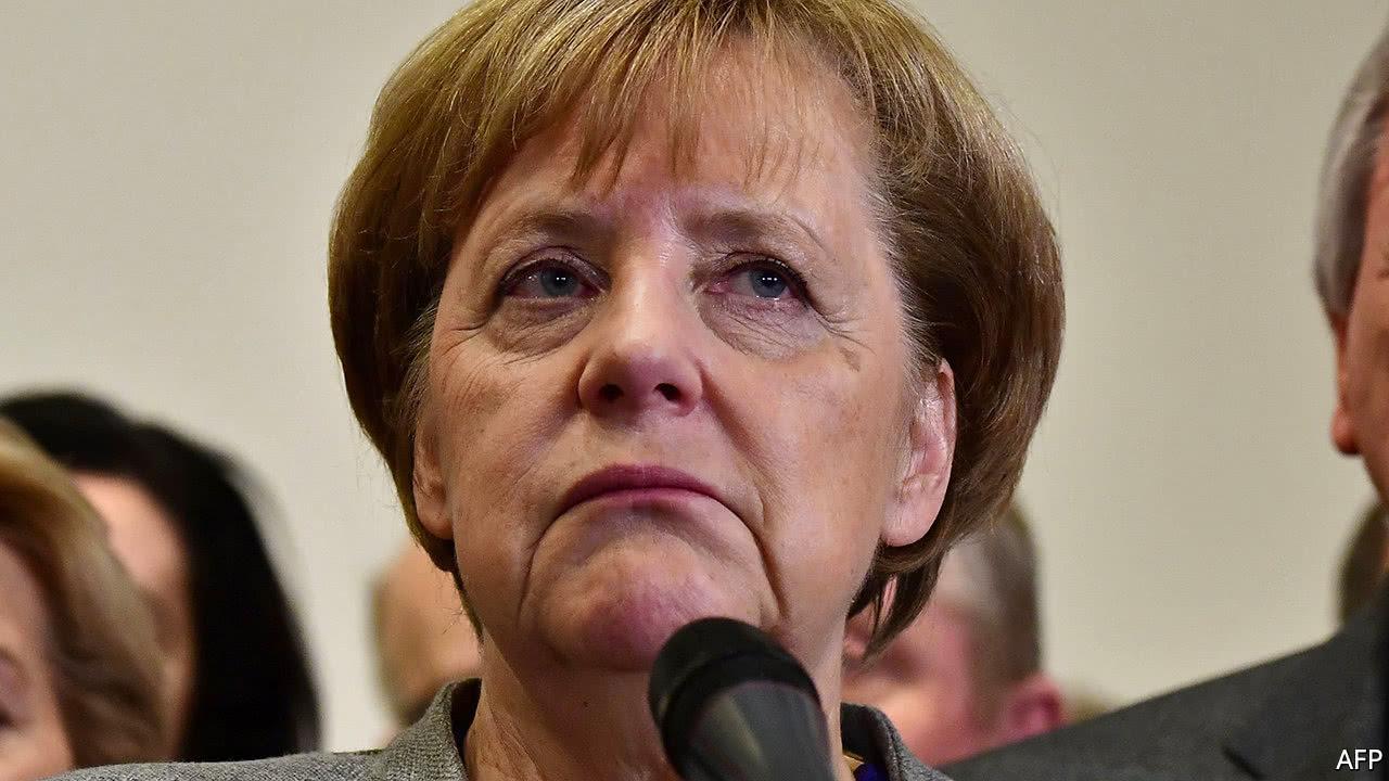 Merkel Rival Opens Door to Grand Coalition to End German Impasse