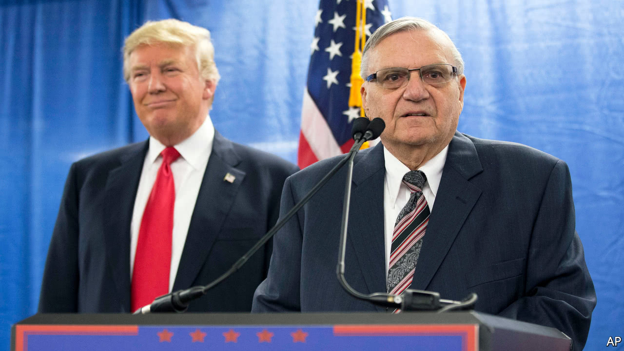 Joe Arpaio points to political traits he shares with Trump