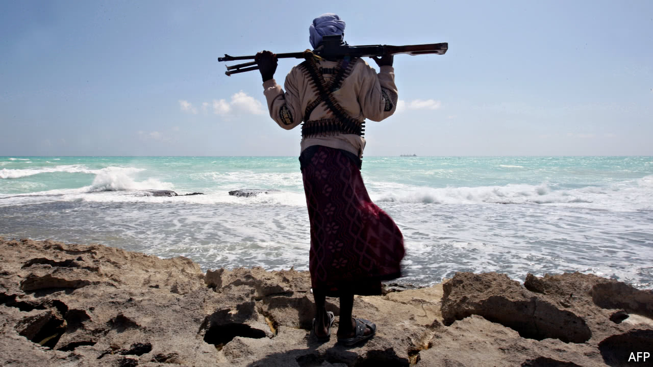 What is happening to Africa's pirates
