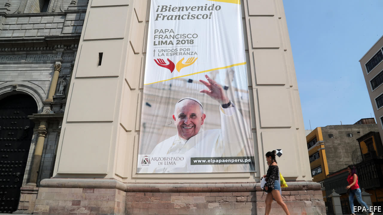 Pope Francis faces a challenging visit to Chile and Peru