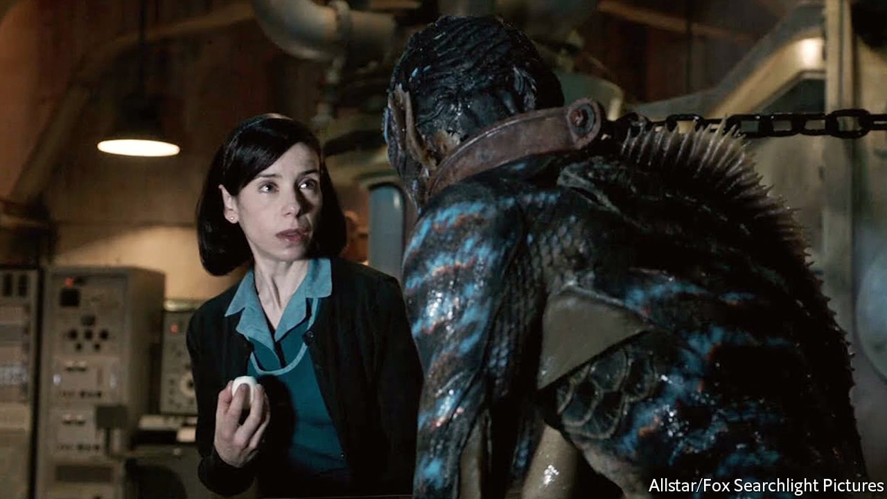 """Sculpting a romantic lead for """"The Shape of Water"""""""