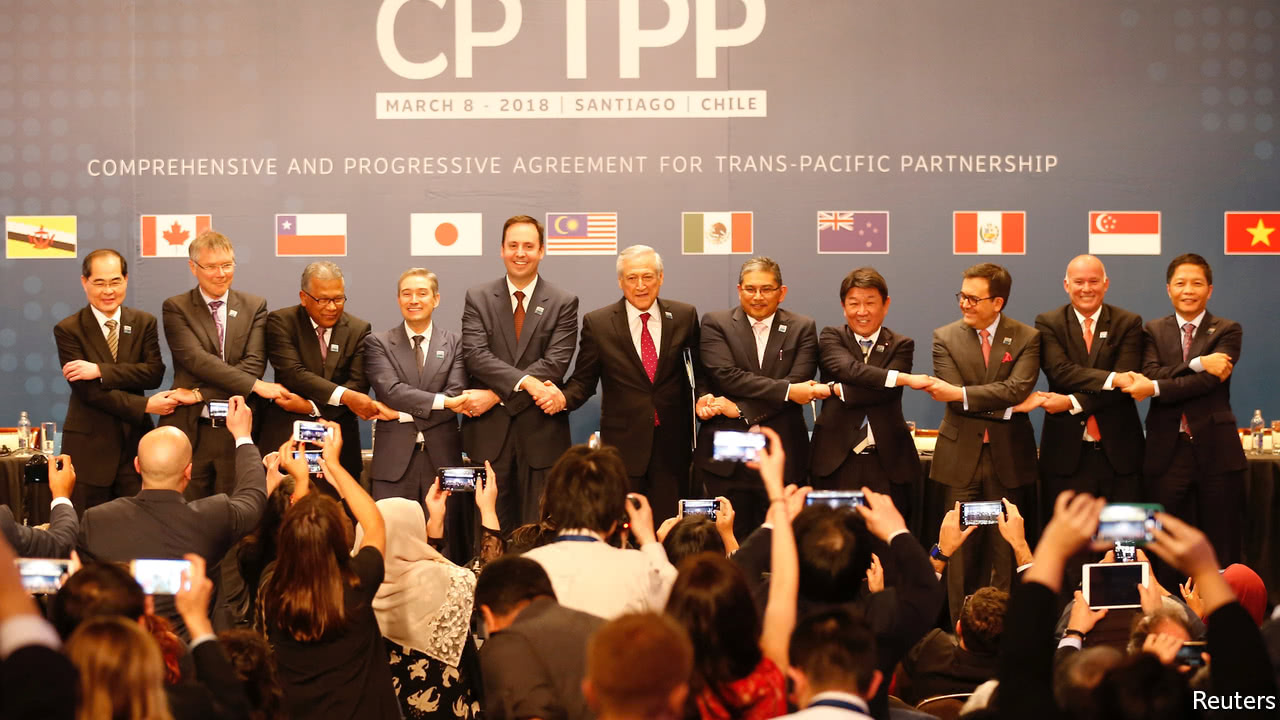Pacific Trade Agreement signed without the US