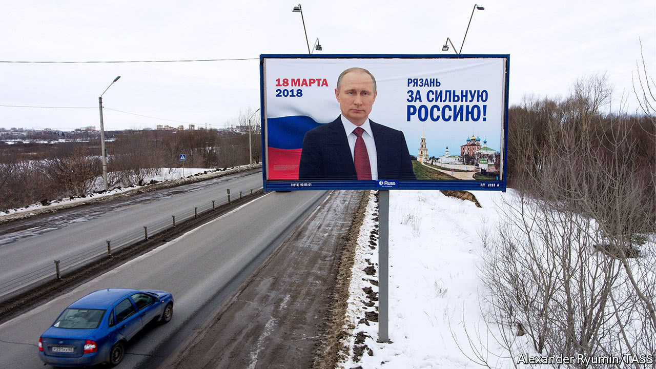 Five graphics that show Putin's dominance in the Russian election