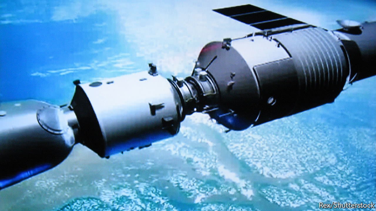 An out-of-control Chinese space station will soon fall to Earth