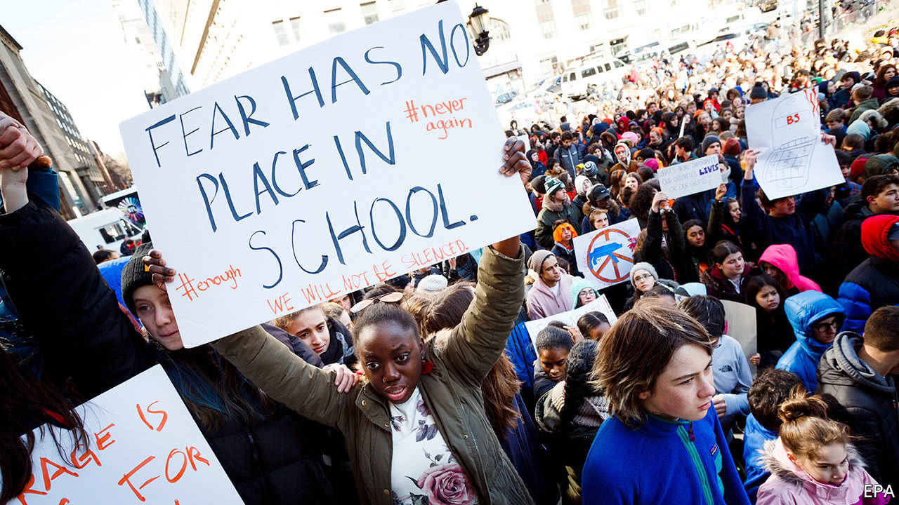 Students Across America Walk Out Over Gun Violence