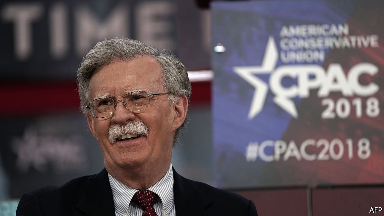 John Bolton is no warmonger