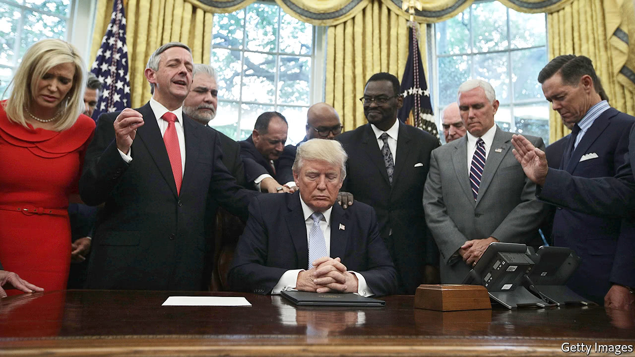 Donald Trump is more popular than ever with white evangelicals