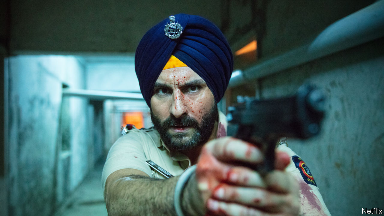 "Netflix makes a statement in India with ""Sacred Games"""