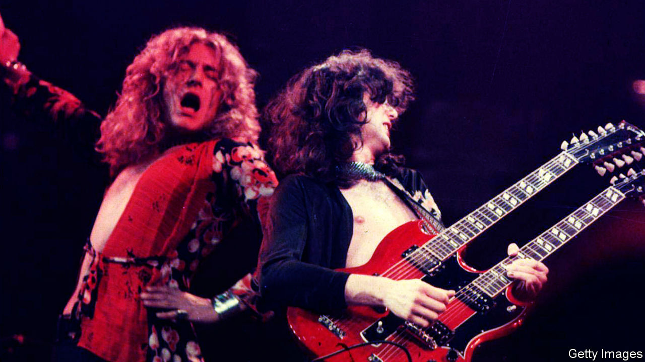 Fifty years on, Led Zeppelin are still idols for aspiring rock stars