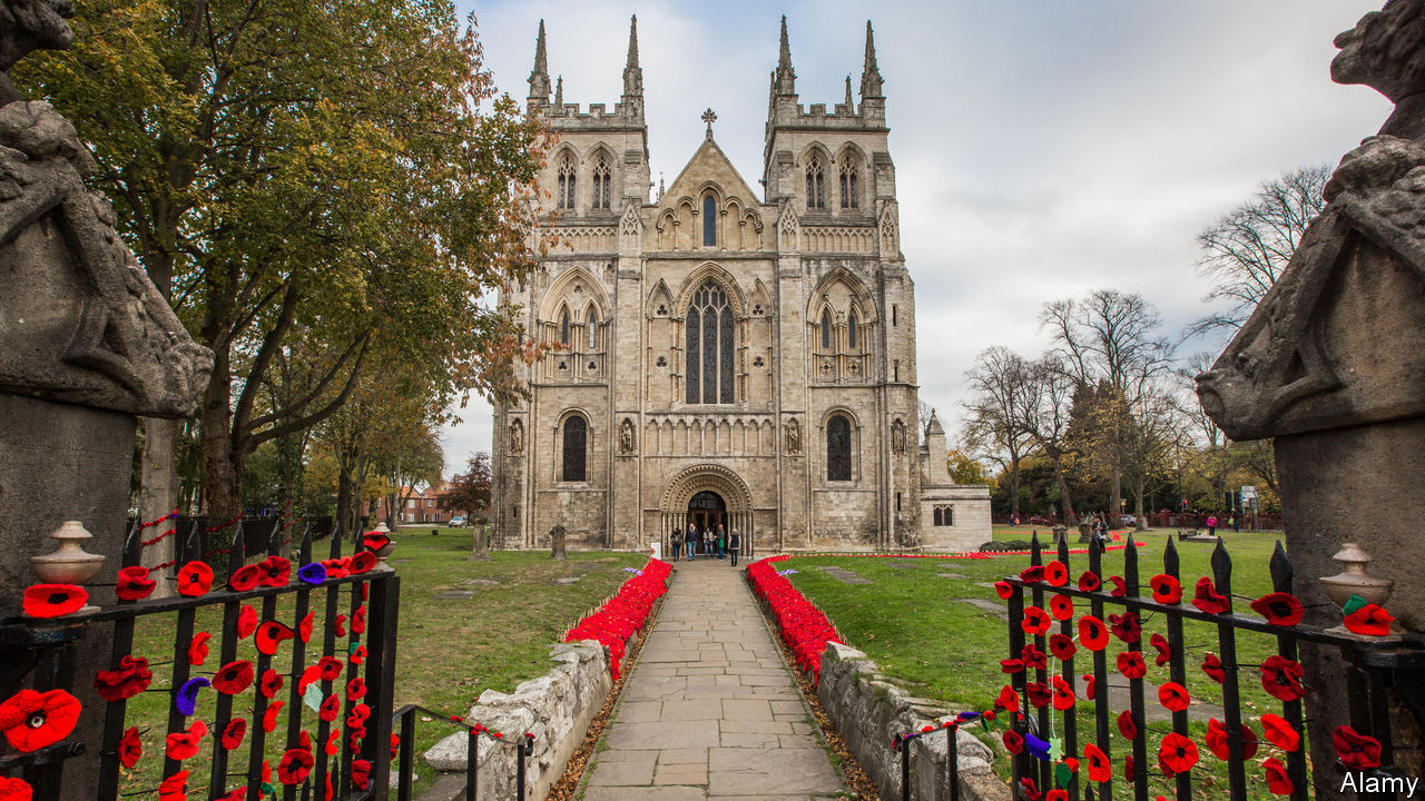 The Church of England plays a big role in acts of remembrance
