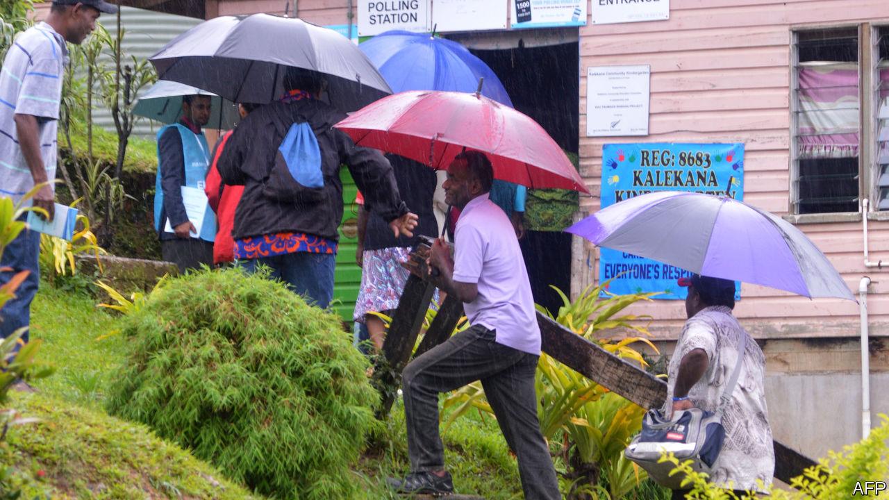 Fiji's coup-makers act democratic
