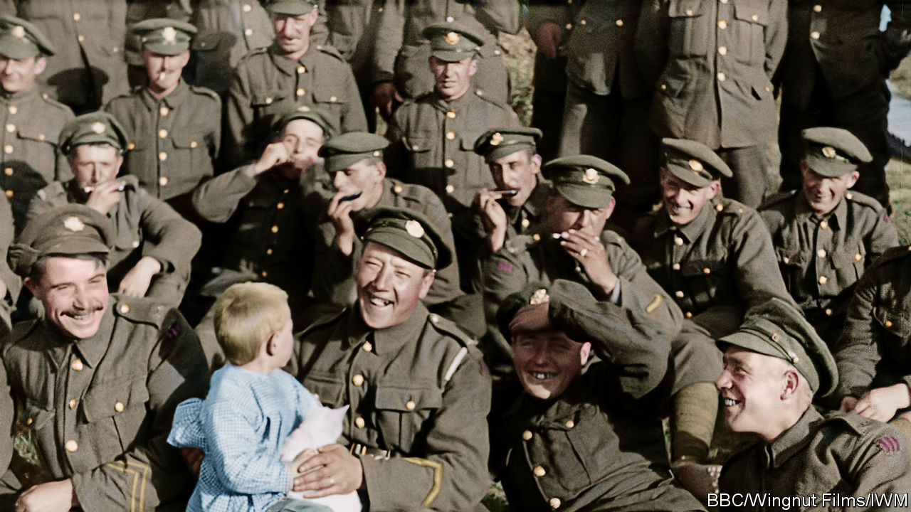 """""""They Shall Not Grow Old"""" brings archive footage to stirring life"""