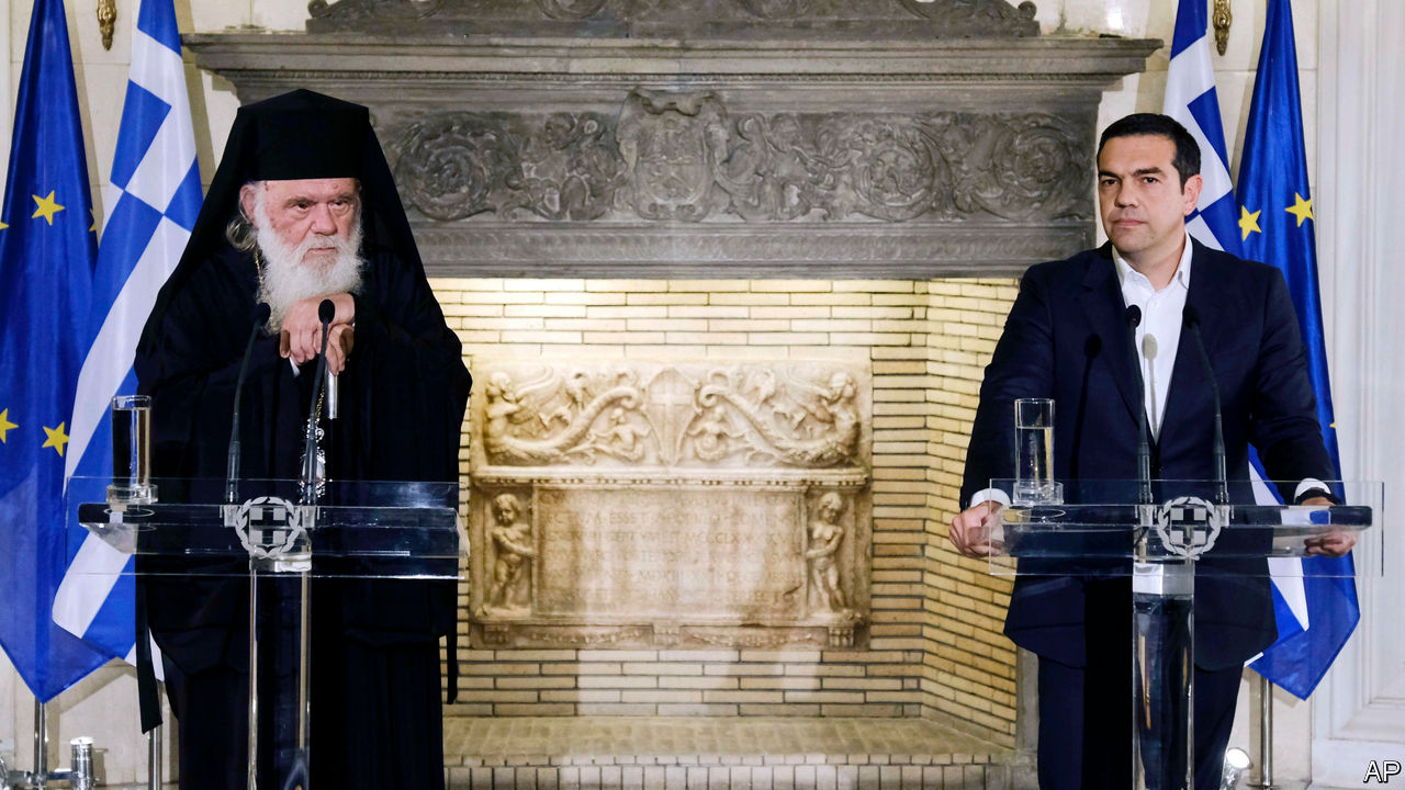 The Greek Orthodox Church faces a battle over secularisation