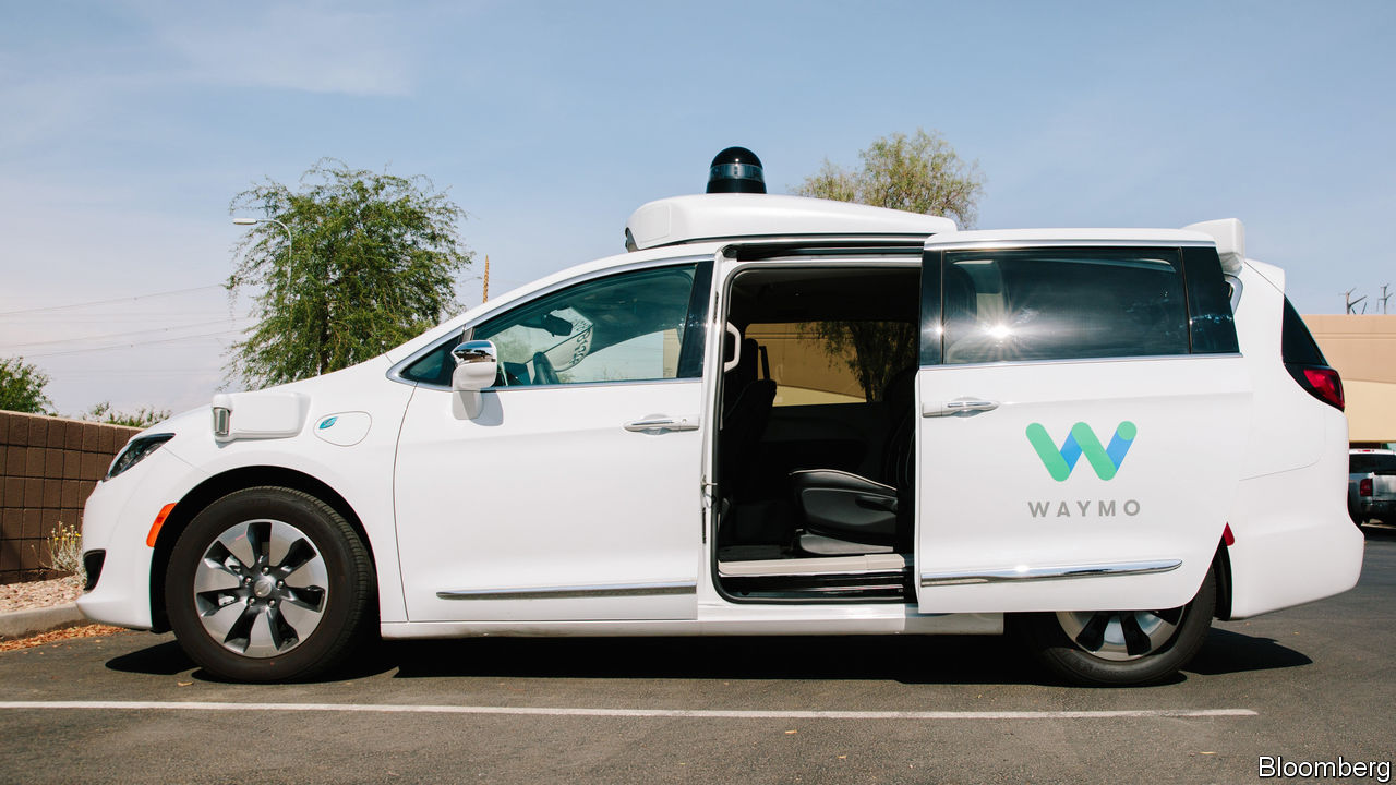 Here come the self-driving taxis