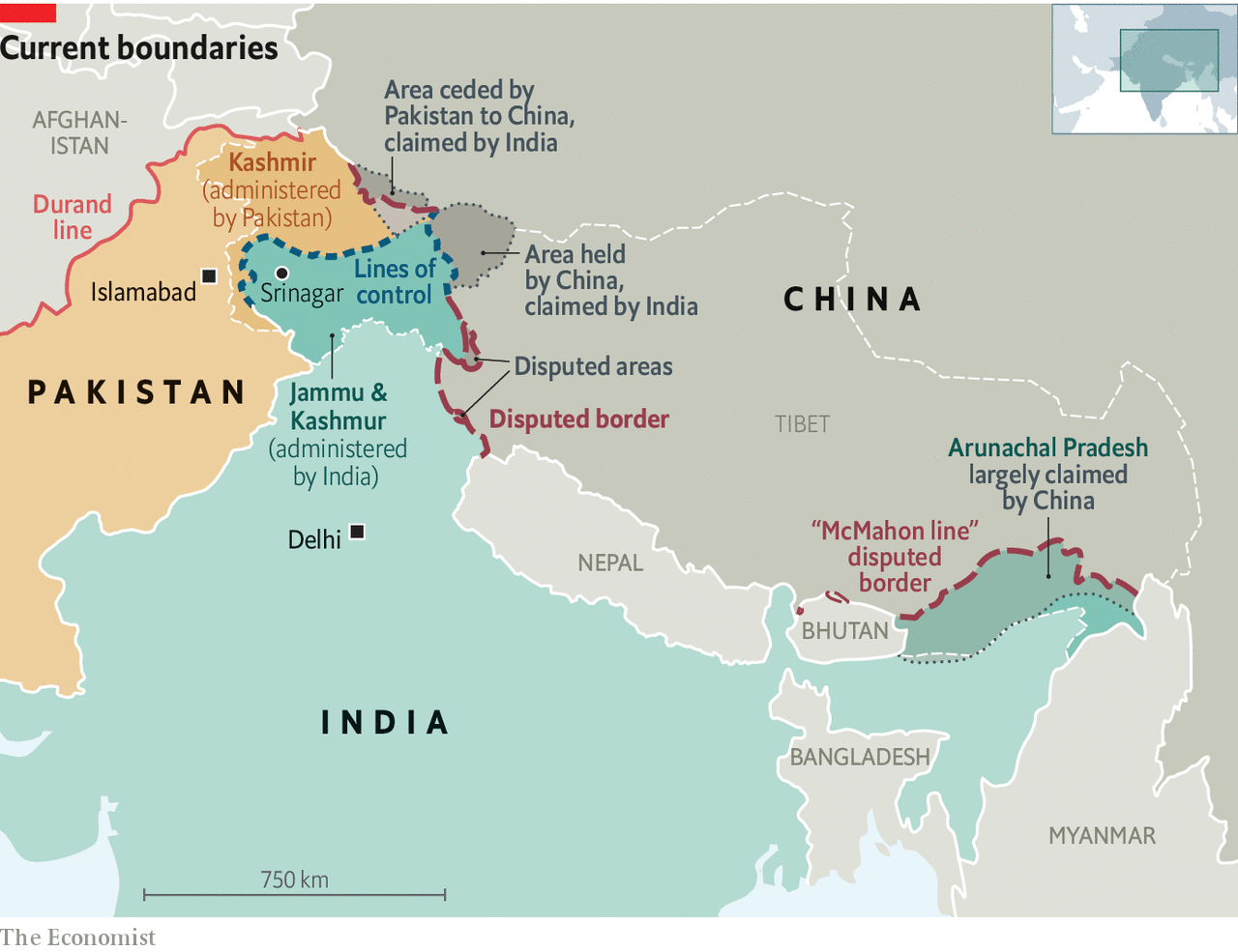 Fantasy Frontiers Indian Pakistani And Chinese Border Disputes