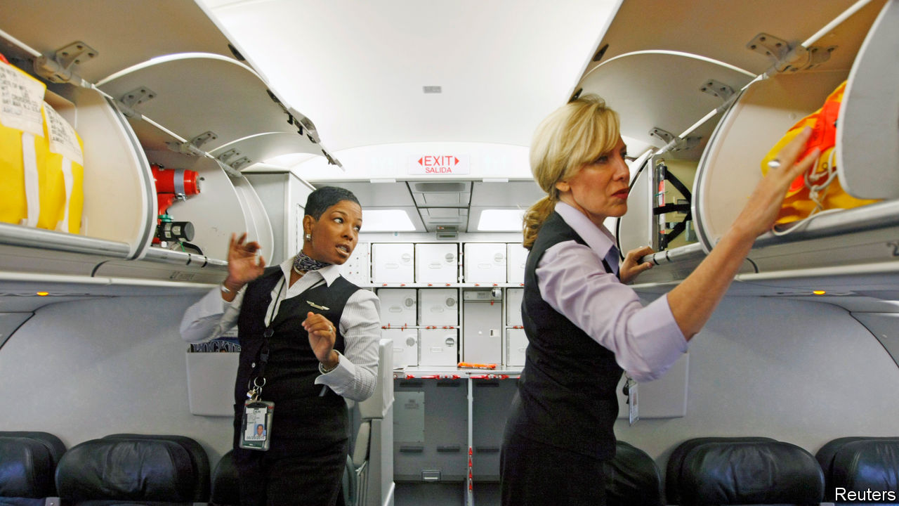 The case against tipping cabin crew