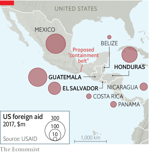 Donald Trump cuts off aid to Central America - Go home, and don\'t ...