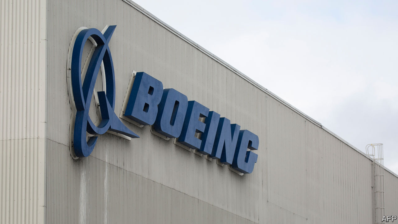 Why Boeing's shares have not fallen further after the 737 MAX crashes