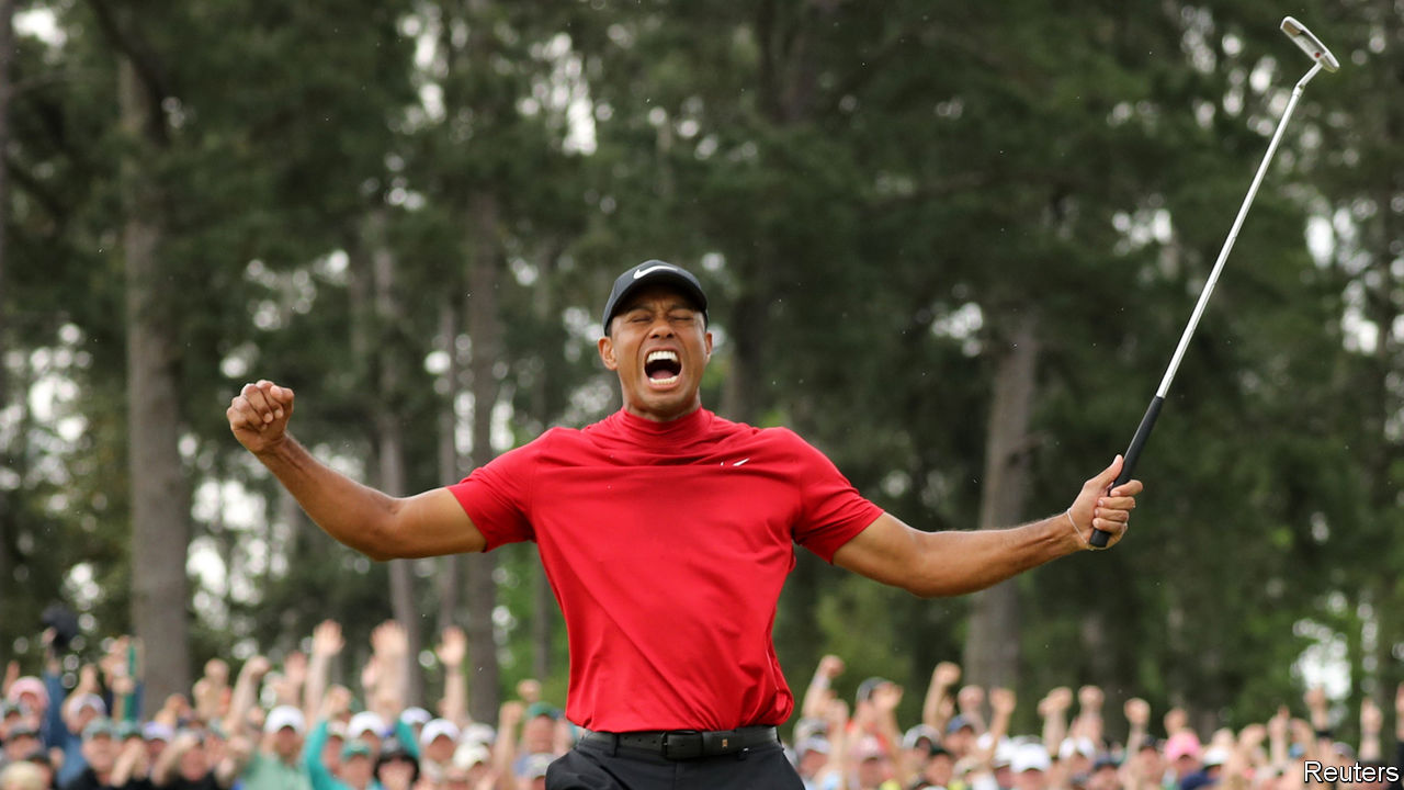 After years as an underdog, Tiger Woods is a favourite once again