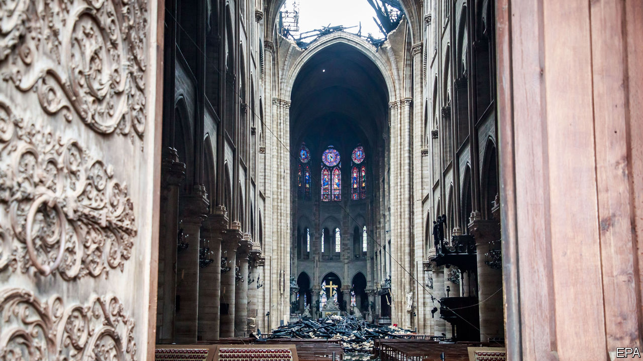 Rebuilding the cathedral after the blaze