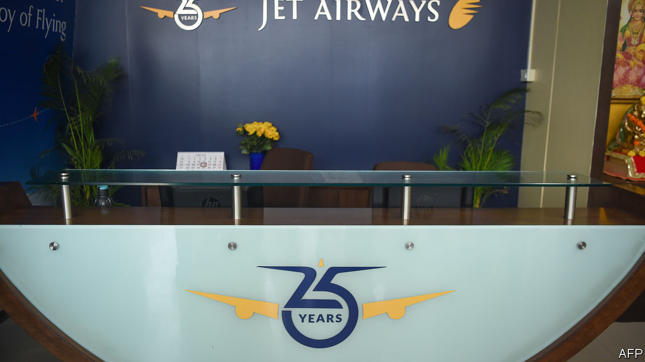 Jet Airways stops all operations